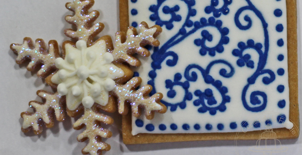 Biscoito decorado autorelevo